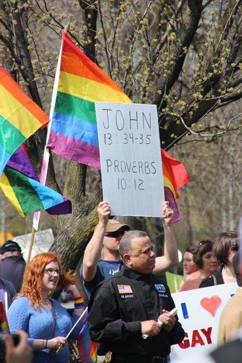 Marriage Equality Rally in Logan Square