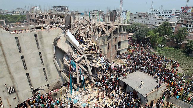 2013 Bangladesh Factory Collapse