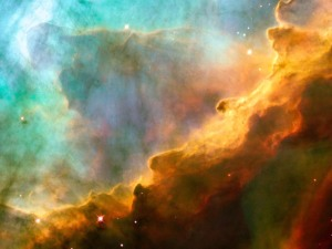 NASA image of the Omega Nebula
