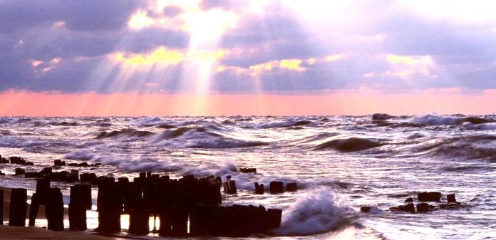 Waves of Lake Michigan