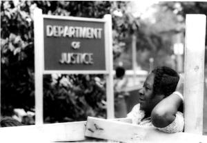 """Photo by Robert Houston, from """"Most Daring Dream: The Photography of Robert Houston & the 1968 Poor People's Campaign"""""""