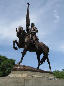 Statue of General John A. Logan, Grant Park, Chicago