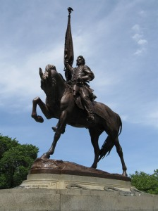 Statue of General John A. Logan, Grant Park, Chicago