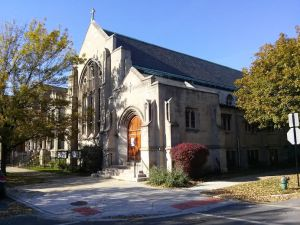 Church of the Advent (Episcopal). Located at Logan Boulevard & Francisco Ave., Logan Square, Chicago.