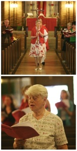 "St. Luke's inaugural ""Deacon Servant Leaders"": Kay Deacon (above) and Betty Feilinger (below)."