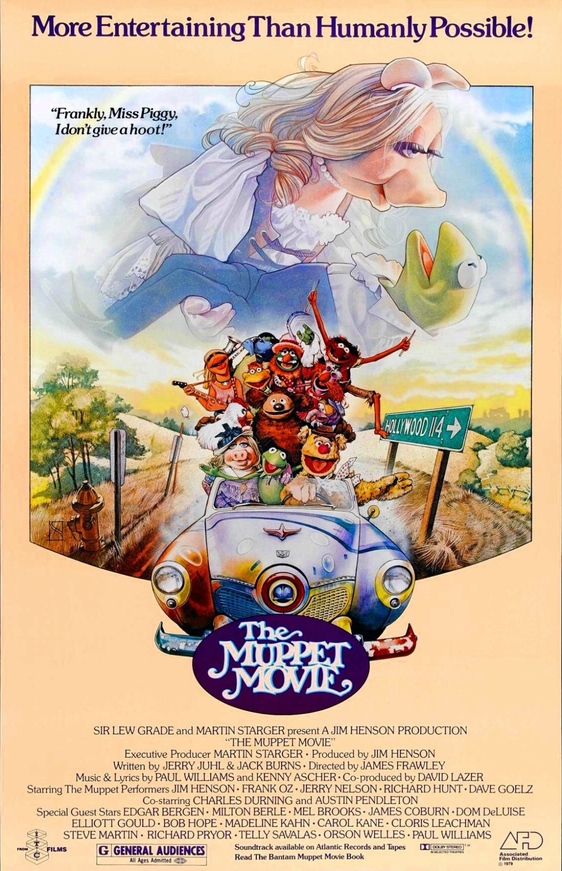 The Muppet Movie poster